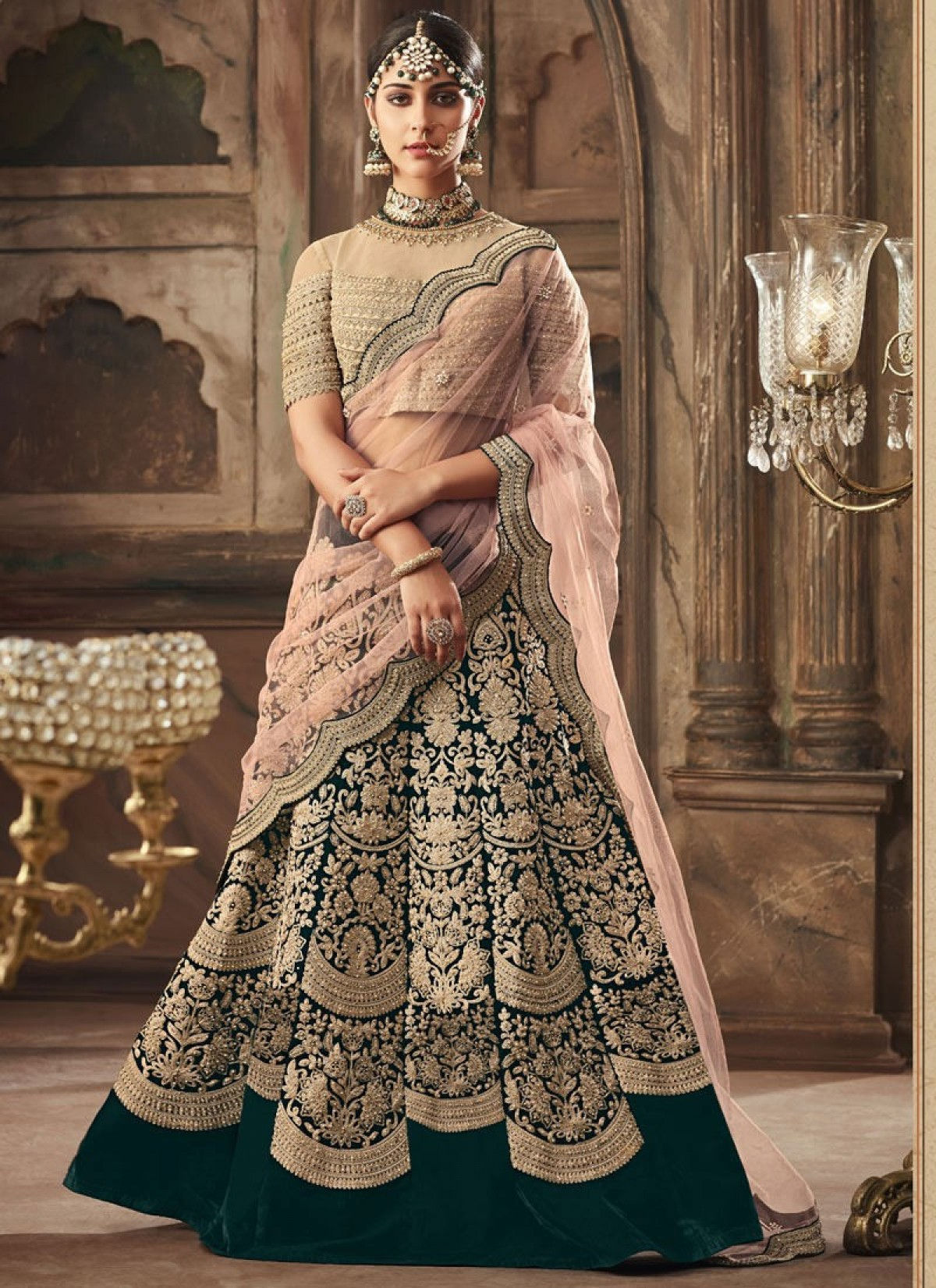 bc7509fb6e Shop Flared Lehenga Choli Online | Flared Bridal Lehenga Choli - Other