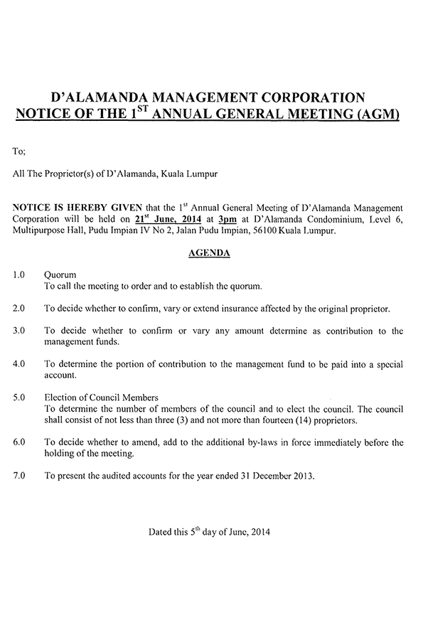 Developer's 1st AGM of the MC (Page 2)