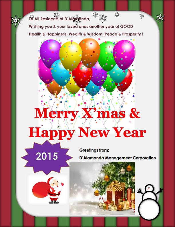 Seasons Greeting 2014